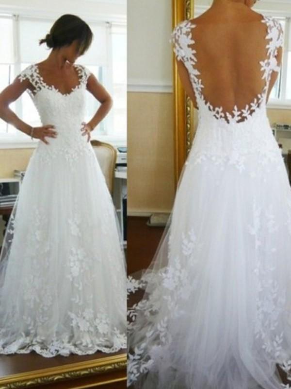 Robe de mariee princesse en tulle