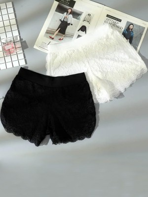 Fashion Women's Lace Elastic Safety Pants/Safety Shorts