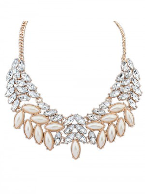 Occident Boutique Pearls Temperament Grosses soldes Collier