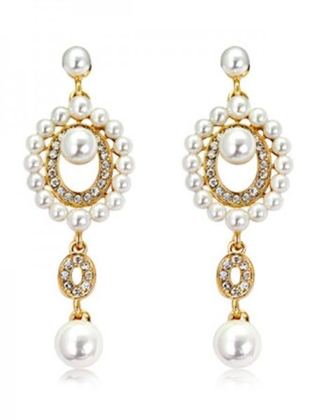 Unique Pearl Hot Sale Des boucles d'oreilles For Ladies