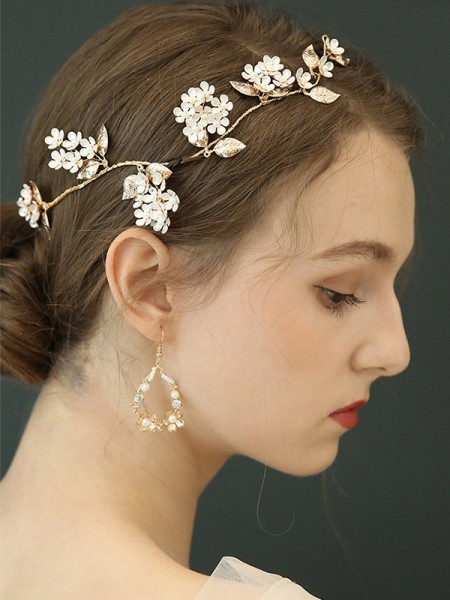 Charming Alloy With Imitation Pearl Hot Sale boucles d'oreilles For Ladies