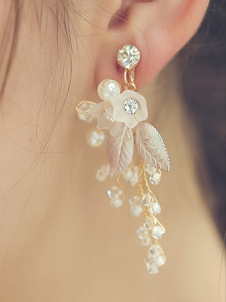 Trending Alloy With Beads Hot Sale boucles d'oreilles For Women
