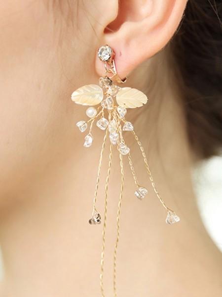 Dreamlike Alloy With Faux diamants Hot Sale boucles d'oreilles