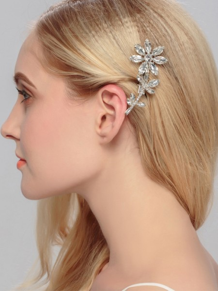 Awesome Alliage Avec Faux diamants Hairpins