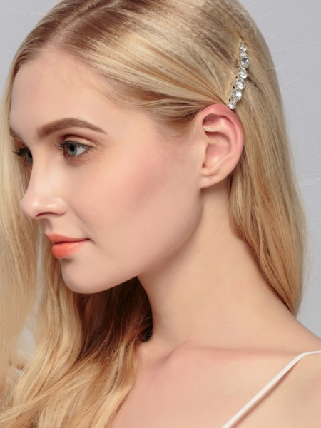 Beautiful Alliage Avec Faux diamants Hairpins
