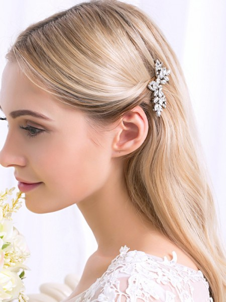 Exquis Alliage Avec Faux diamants Hairpins