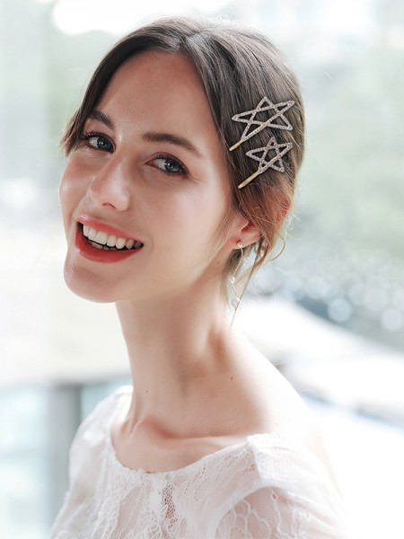 Fascinating Alliage Avec Faux diamants Hairpins(3 Pièces)
