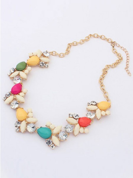 Occident Fresh Style Doux Grosses soldes Collier