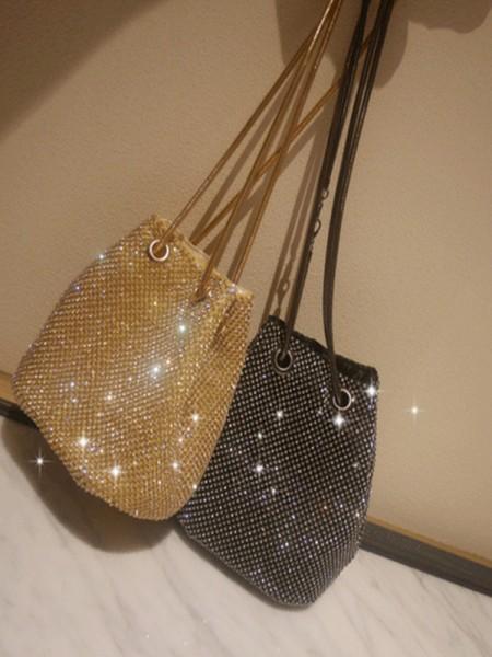 Mode Faux diamants Soirée Sacs à main