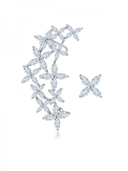 Romantic Cristal Hot Sale Des boucles d'oreilles For Ladies
