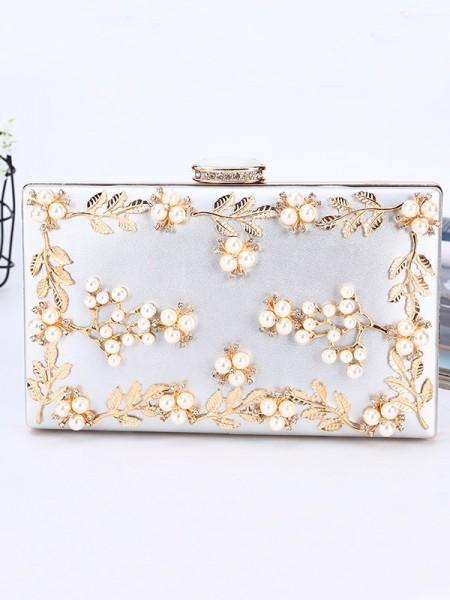 Luxueux PU Soirée Sacs à main With Perles