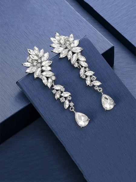 Unique Cristal Longue Des boucles d'oreilles For Ladies
