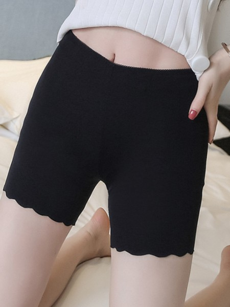 New Women's Nylon Seamless Elastic Safety Pants/Safety Shorts