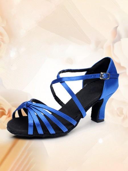 Aux Femmes Kitten Heel Avec Buckle PU Peep Toe Des sandales