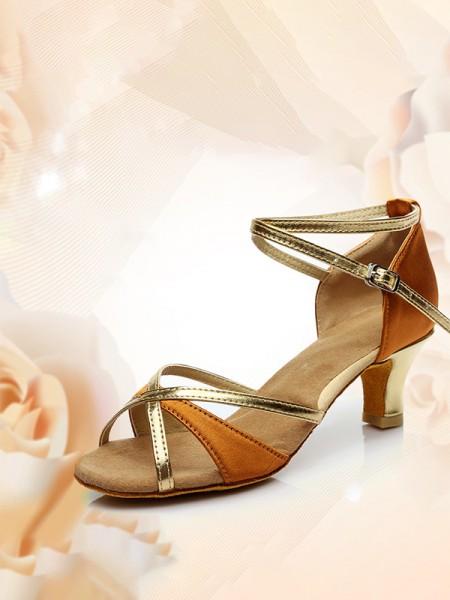 Aux Femmes Peep Toe Kitten Heel Avec Buckle PU Des sandales
