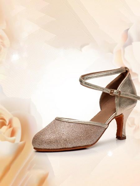 Aux Femmes Closed Toe Kitten Heel Avec Buckle PU Des sandales