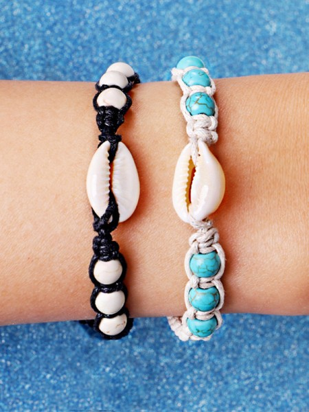 Facile Alliage With Shell Hot Sale Bracelets