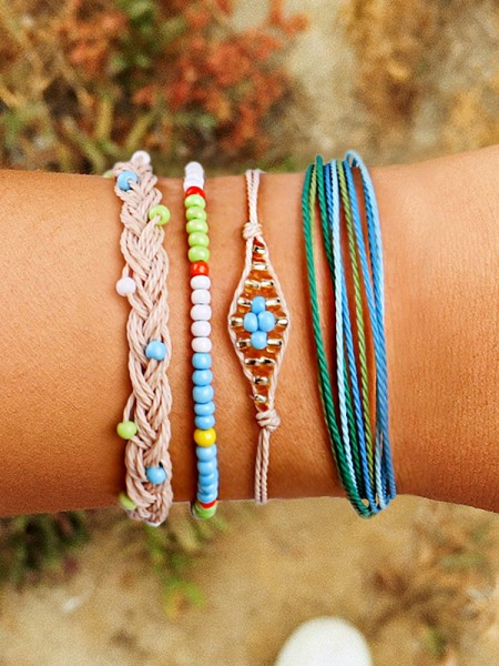 Perfect Plastics Résines Hot Sale Bracelets(4 Pieces)
