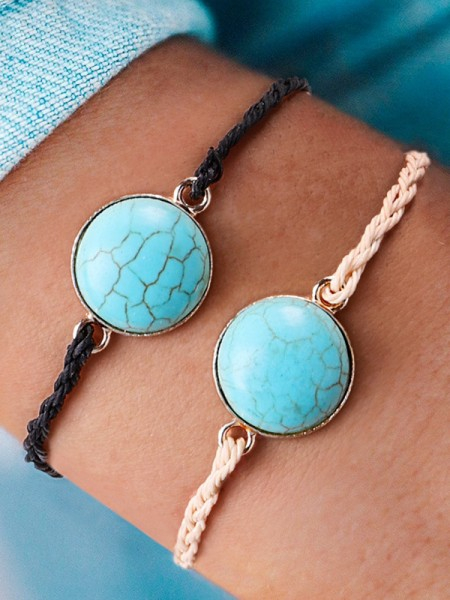 Personality Alliage With Stone Hot Sale Bracelets
