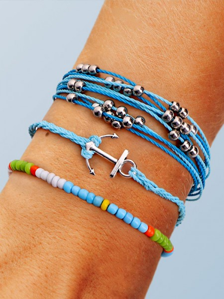 Geometric Plastics Résines Hot Sale Bracelets(3 Pieces)