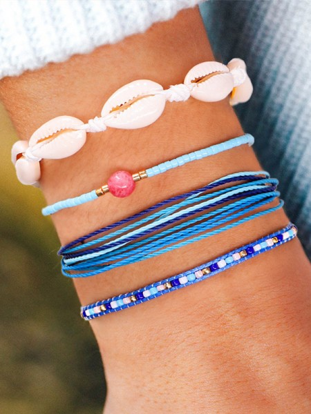 Charming Beads Hot Sale Bracelets(4 Pieces)