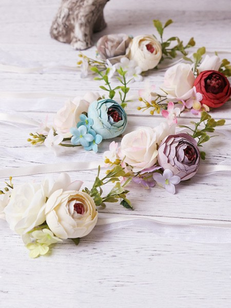 Joli Artificial Flower Poignet Corsage