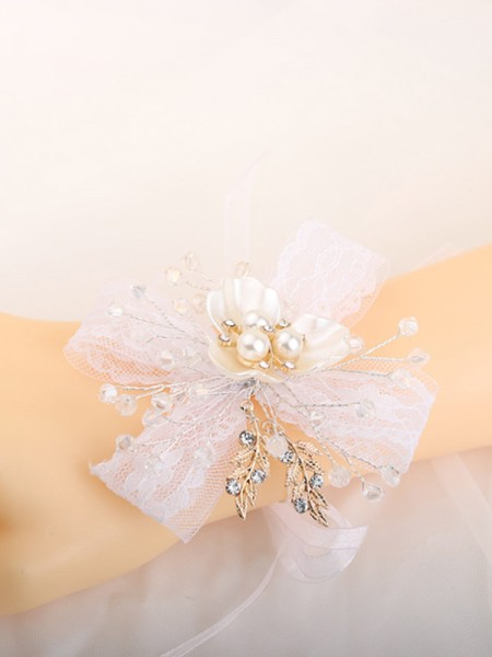 Pure Hand-tied Cristal Poignet Corsage