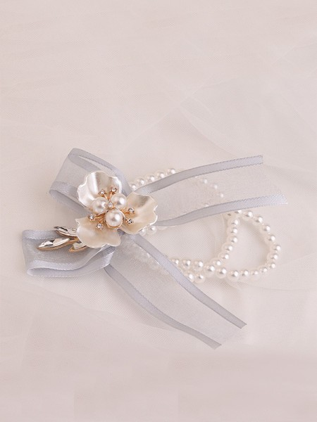 Sweet Imitation Pearl Poignet Corsage