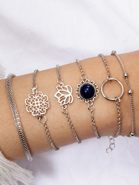 Amazing Alliage Hot Sale Bracelets(6 Pièces)