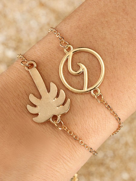 Charming Alliage Hot Sale Bracelets(2 Pièces)