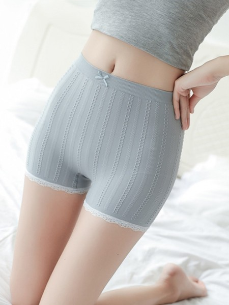 Hot Sale Women's Nylon Seamless Elastic Safety Pants/Safety Shorts