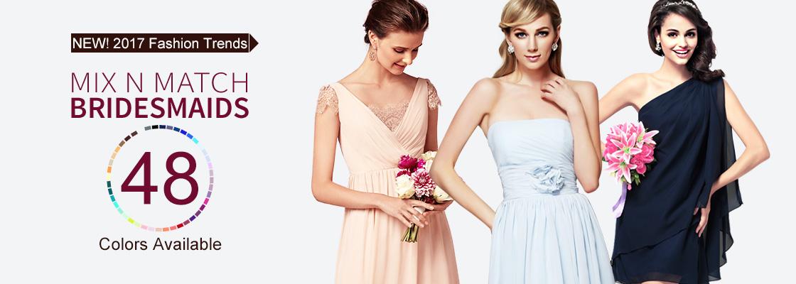 3b98c9a4acf Robes de Demoiselles d Honneur Pas Cher en Ligne - Hebeos